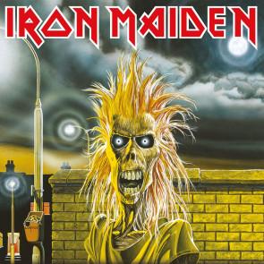 Iron Maiden Leinwandbild im Holzrahmen First Album 40 x 40 cm