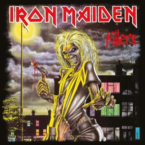 Iron Maiden Leinwandbild im Holzrahmen Killers 40 x 40 cm