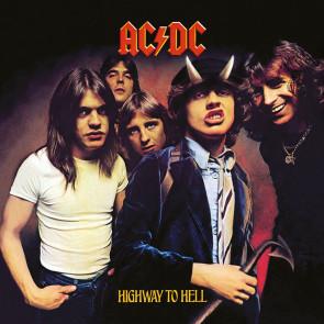 AC/DC Leinwandbild im Holzrahmen Highway To Hell 40 x 40 cm