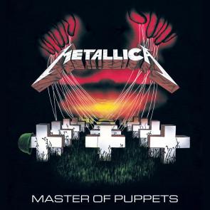 Metallica Leinwandbild im Holzrahmen Master Of Puppets 40 x 40 cm
