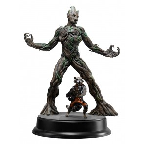 Guardians of the Galaxy Groot & Rocket Raccoon 1/9 Plastic Model Kit 20 cm