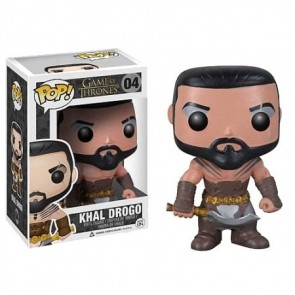 Game of Thrones POP! Vinyl Wackelkopf-Figur Khal Drogo 10 cm