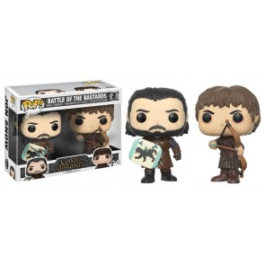 Game of Thrones Battle of the Bastards POP! Figuren Doppelpack 9 cm
