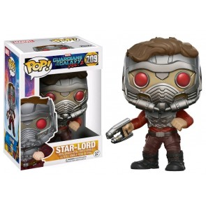 Guardians of the Galaxy 2 Star-Lord POP! Figur Masked 9 cm