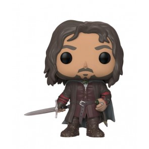 Herr der Ringe POP! Movies Vinyl Figur Aragorn 9 cm