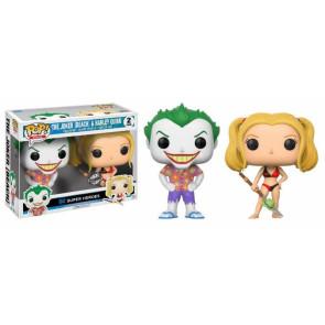 DC Comics Beach Joker & Harley POP! Figuren Doppelpack 9 cm