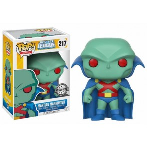Justice League Unlimited Martian Manhunter POP! Figur 9 cm