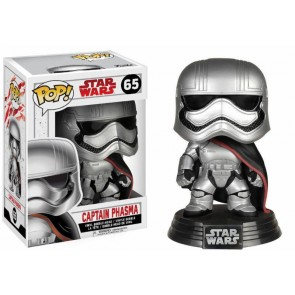 Star Wars VIII Captain Phasma POP! Figur 9 cm