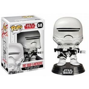 Star Wars VIII First Order Flametrooper POP! Figur 9 cm