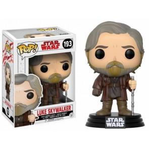 Star Wars VIII Luke Skywalker POP! Figur 9 cm