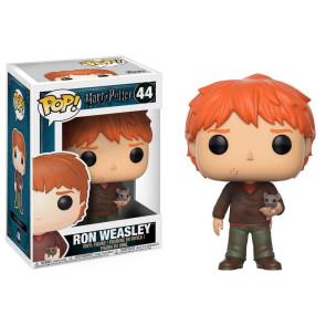 Harry Potter Ron Weasley POP! Scabbers Figur 9 cm
