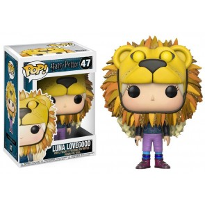 Harry Potter Luna Lovegood POP! Lion Head Figur 9 cm