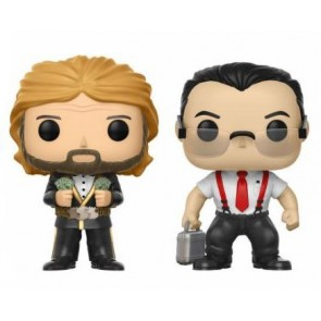 WWE POP! IRS & Million Dollar Man Figuren 9 cm