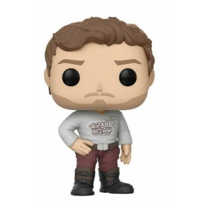 Guardians of the Galaxy 2 Star-Lord POP! Gear Shift Shirt Figur 9 cm