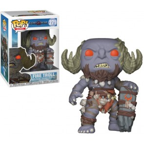 God of War Fire Troll POP! Figur 9 cm