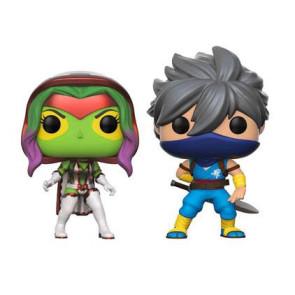 Marvel vs. Capcom Infinite Gamora vs. Strider POP! Figuren 9 cm