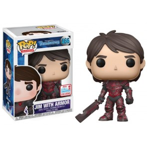 Trollhunters Jim Red POP! Figur 2017 Fall Convention Exclusive 9 cm