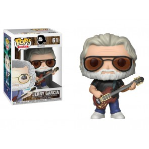 Jerry Garcia POP! Rocks Vinyl Figur 9 cm