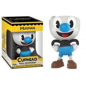 Cuphead Mugman Vinyl Collectible Figur 10 cm