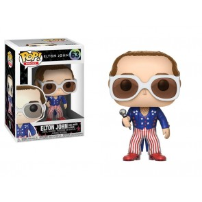 Elton John POP! Red, White & Blue Figur 9 cm