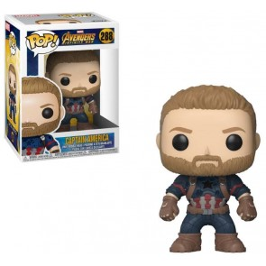 Avengers Infinity War Captain America POP! Figur 9 cm