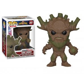 Marvel Sturm der Superhelden King Groot POP! Figur 9 cm
