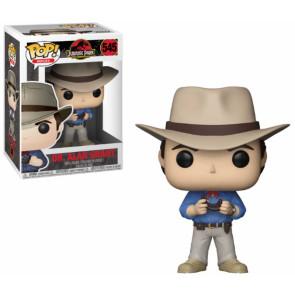 Jurassic Park Dr. Alan Grant POP! Figur 9 cm
