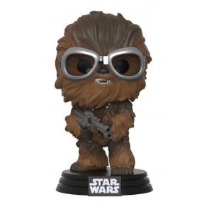 Star Wars Solo Chewbacca with Goggles POP! Figur 9 cm