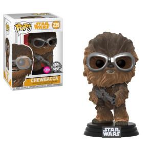 Star Wars Solo hewie W/Goggles POP! Figur CFlocked 9 cm