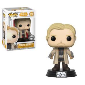 Star Wars Solo POP! Movies Vinyl Wackelkopf-Figur Tobias Beckett 9 cm