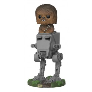 Star Wars Chewbacca AT-ST POP! Figur 10 cm