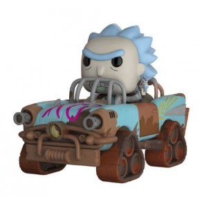 Rick and Morty Mad Max Rick POP! Rides Figur 15 cm
