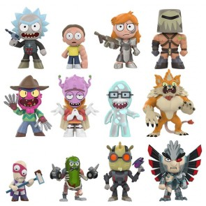 Rick and Morty Series 2 Mystery Minis Figuren 6 cm Display