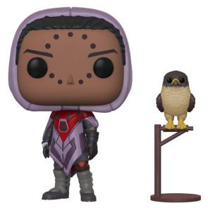 Destiny Hawthorne w/ Hawk POP! Figur 9 cm