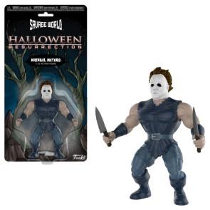 Halloween Savage World Actionfigur Michael Myers 10 cm