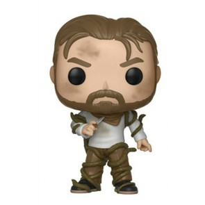 Stranger Things Hopper with Vines POP! Figur 9 cm