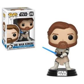 Star Wars Clone Wars Obi Wan Kenobi POP! Figur 9 cm