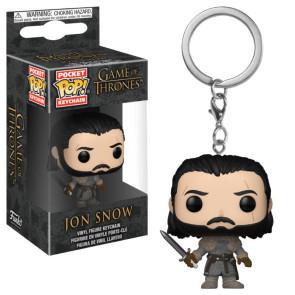 Game of Thrones Pocket POP! Vinyl Schlüsselanhänger Jon Snow (Beyond the Wall) 4 cm