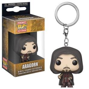 Herr der Ringe Pocket POP! Vinyl Schlüsselanhänger Aragorn 4 cm