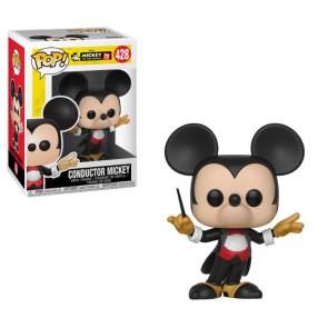 Micky Maus 90th Conductor Mickey POP! Figur 9 cm