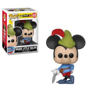 Micky Maus 90th Brave Little Tailor Mickey POP! Figur 9 cm