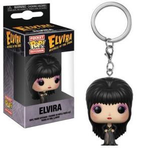 Elvira Herrscherin der Dunkelheit Pocket POP! Vinyl Schlüsselanhänger Elvira 4 cm