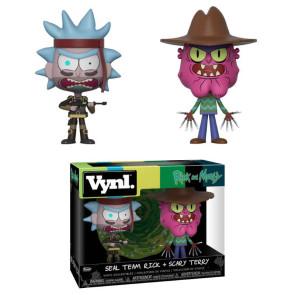 Rick and Morty VYNL Vinyl Figuren Doppelpack Rick & Scarry Terry 10 cm