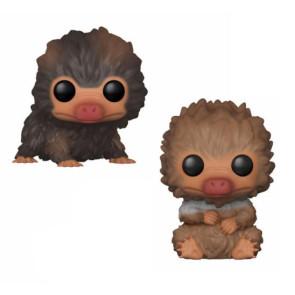Phantastische Tierwesen 2 Baby Nifflers POP! Figuren Doppelpack 9 cm