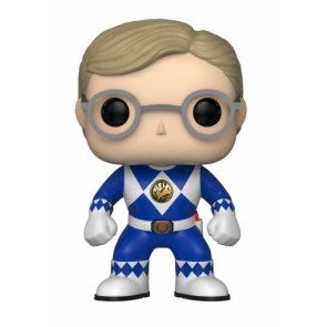 Power Rangers Blue Ranger POP! Figur No Helmet 9 cm
