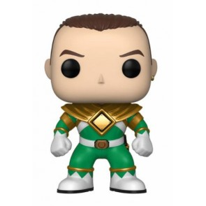 Power Rangers Green Ranger POP! Figur No Helmet 9 cm