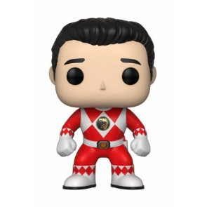 Power Rangers Red Ranger POP! Figur No Helmet 9 cm