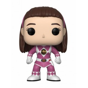 Power Rangers Pink Ranger POP! Figur No Helmet 9 cm