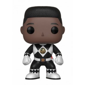 Power Rangers Black Ranger POP! Figur No Helmet 9 cm