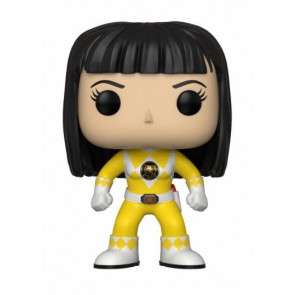 Power Rangers Yellow Ranger POP! Figur No Helmet 9 cm